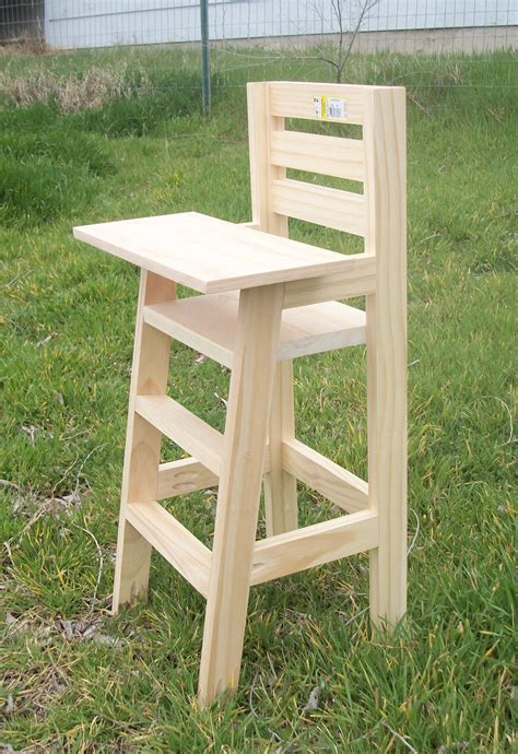 virgie bulman  baby high chair wood plans