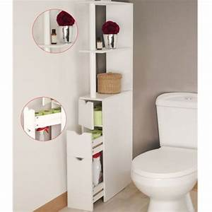 cabinet toilette wc cheap how to fit a back to wall With meuble salle de bain rue du commerce