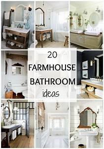 Fixer Upper Möbel : 20 best farmhouse bathrooms to get that fixer upper style bathroom ideas pinterest ~ Markanthonyermac.com Haus und Dekorationen