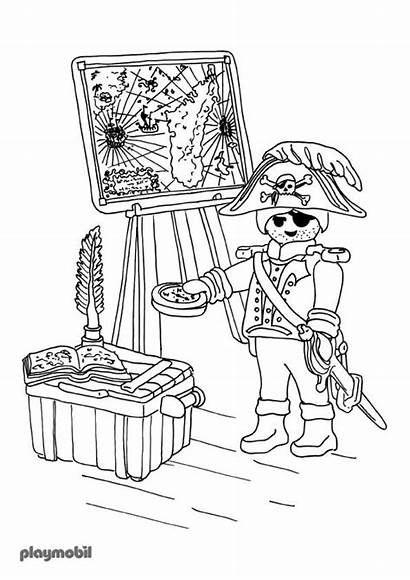 Playmobil Coloriage Coloring Pirate Coloriages Imprimer Police