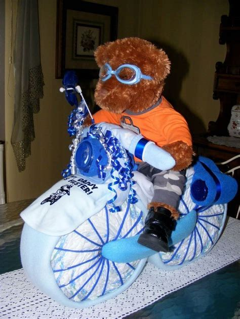 motorcycle baby showers ideas  pinterest