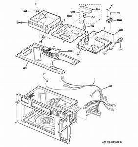 30 Ge Profile Microwave Parts Diagram