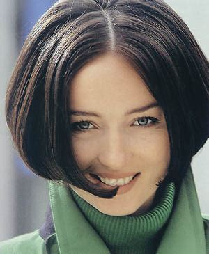 Short Hair Style, Retro 60s, Brunette With Bob Style
