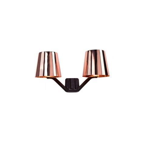 tom dixon base copper wall light