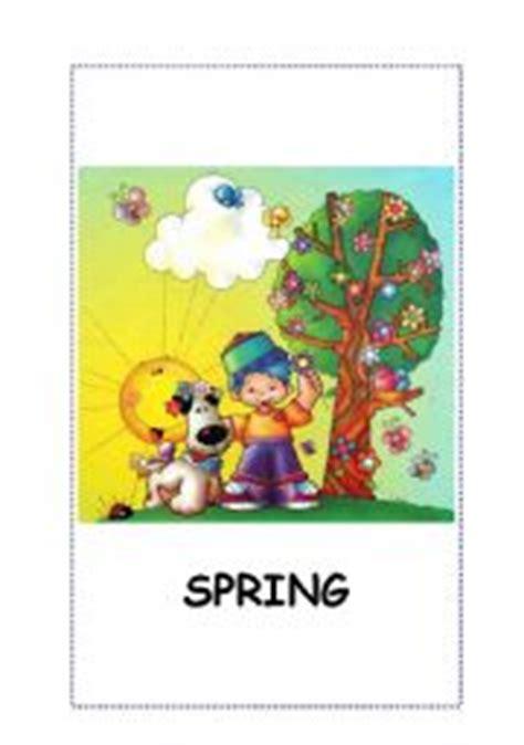 Seasons Flashcards Spring, Summer, Autumn, Winter 5 Flashcards