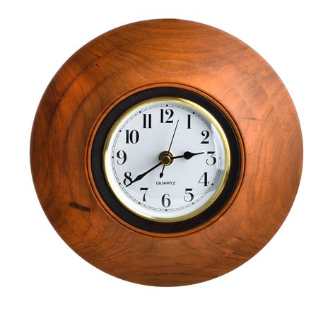 Accent Wall Clock by Wooden Accent Wall Clock Southern Highland Craft Guild
