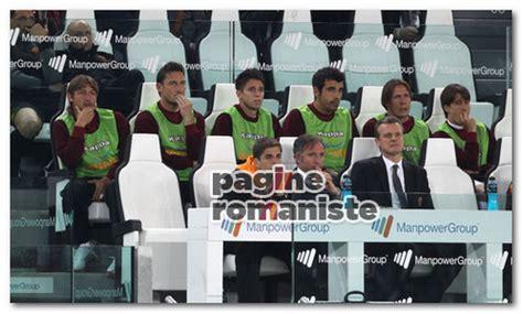 Panchine Juventus Stadium Il Romanista Non Toglietevi Quella Maglia Pagine Romaniste