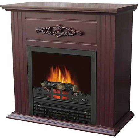 walmart electric fireplace electric fireplace with 28 quot mantle chestnut walmart