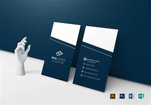 Ms Word Card Template Free 6 Real Estate Business Card Templates In Ai Psd