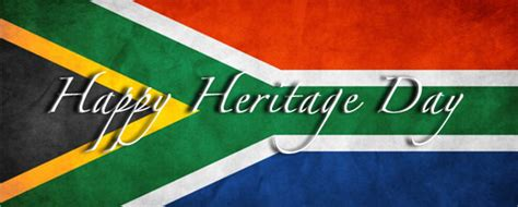 celebrating heritage day  september awesome south africa
