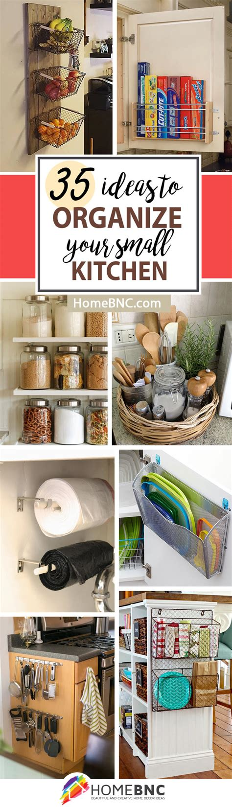 organization ideas for small kitchens 35 best small kitchen storage organization ideas and 7214