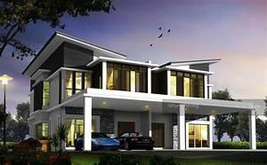 Villa Design New Semi D With 3000 Sqft Extra Land, 0% D/P ...