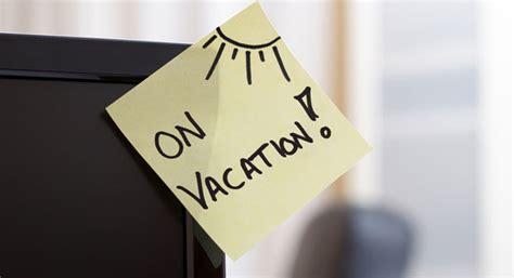 exemple message absence bureau rédiger un e mail d absence avant départ en vacances