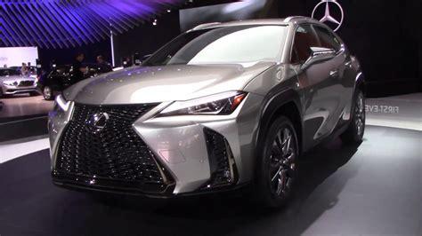 lexus ux  york international auto show youtube
