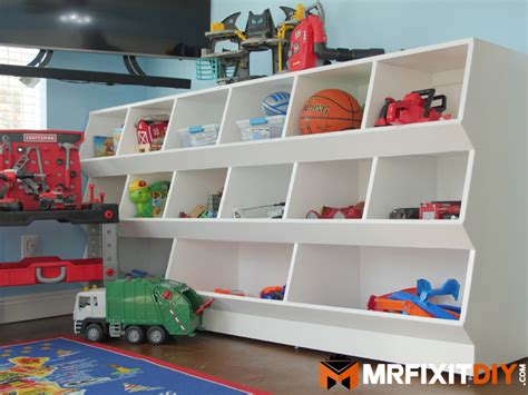 diy giant toy box storage cabinet build plans  fix