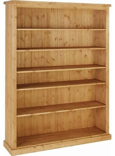 Chunky Bookcase by Devonshire Chunky Pine Bookcase 6ft Wide Contemporary
