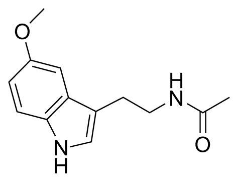 black and white file melatonin png wikimedia commons