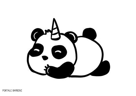 unicorno puccioso pandacorno disegni kawaii pandacorno pandacorni da colorare e racconti portale