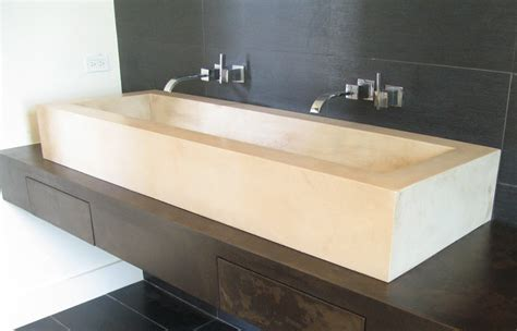 kohler trough trough sinks for bathrooms clubnoma com