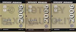 2006 Cobalt And Pursuit Repair Shop Manual Original