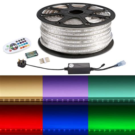 multi color led lights 50m rgb led