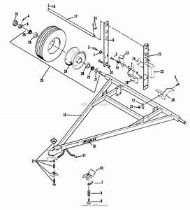 Bunton  Bobcat  Ryan 544856 All Tote Trailer Parts Diagram