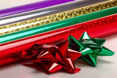 Paper Wrapping Wrap Gift Christmas Foil Bows