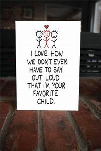 $5 Funny Father's Day Card Your favorite child cute card ...