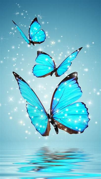 Letter Stylish Wallpapers Backgrounds Iphone Butterflies