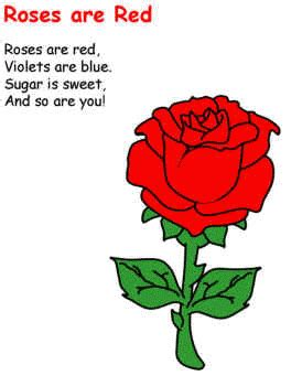 roses  red valentines day poem