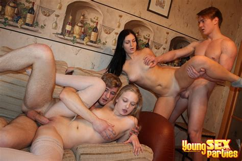 Young Sex Parties Foursome Teen Pounding Photo Album By