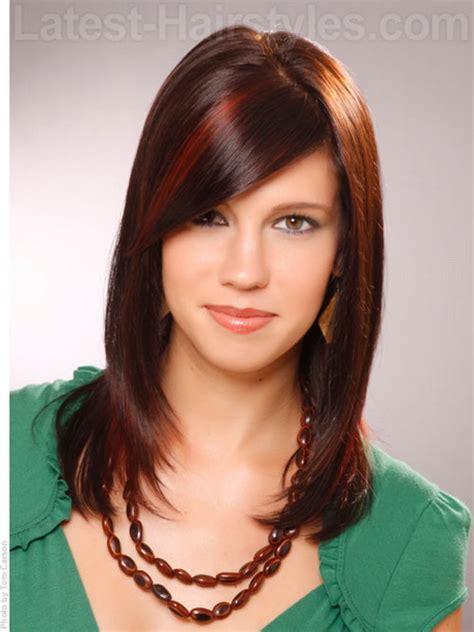 medium length haircuts for teens