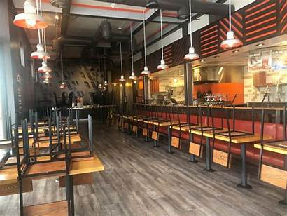 Restaurant Empty Pizza Restaurants Blaze National Association