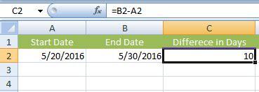 learn subtract excel subtraction formulas