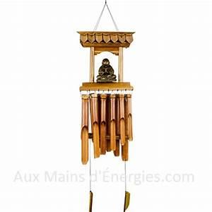 Carillon A Vent : carillon bambou a vent temple bouddha ~ Melissatoandfro.com Idées de Décoration