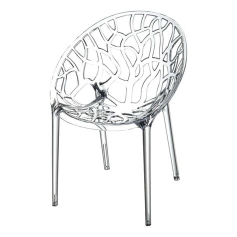 chaise en plexi chaise design en plexi 4 pieds tables chaises et tabourets