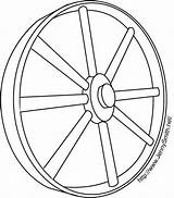 Wagon Wheel Coloring Template Larger Printablecolouringpages Credit sketch template