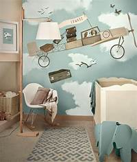 interesting kidsroom wall mural 10 Cool Painted Wallpapers For Kids Rooms | House Design ...