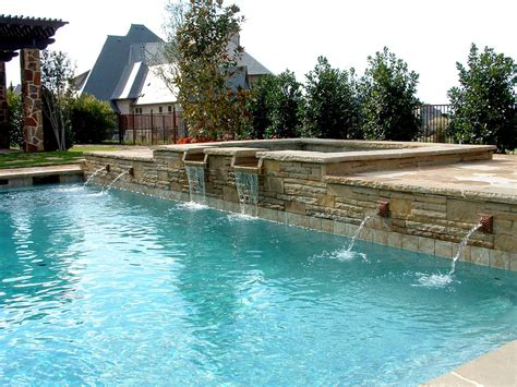 swimming pool features swimming pool water feature ideas artenzo