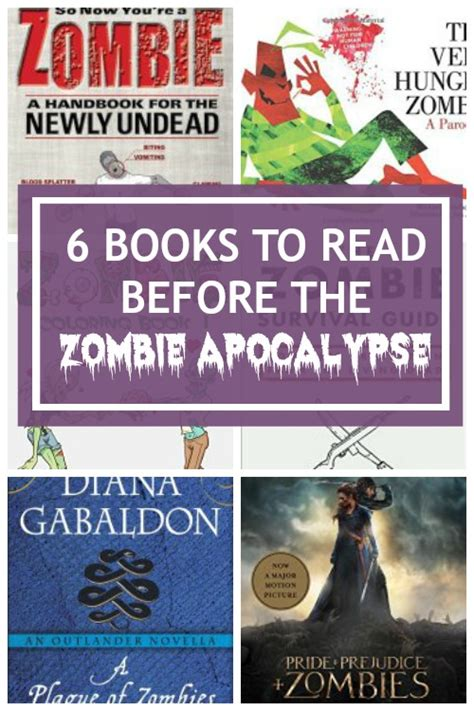apocalypse zombie read books before zombies until recommendations tide then