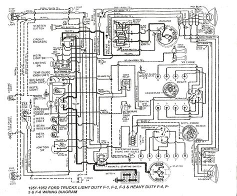 Wiring Diagram 1951 F1 Ford Truck by Wiring Questions Ford Truck Enthusiasts Forums