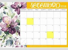 Planner Calendário 2018