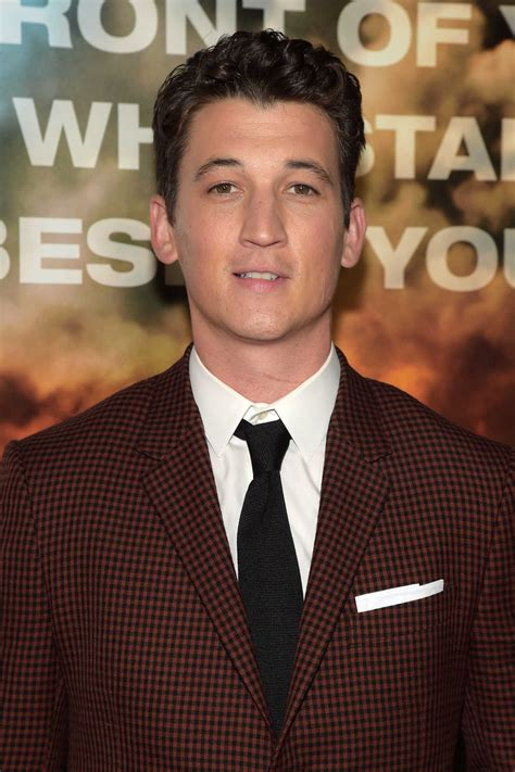 Miles Teller at Only The Brave Screening in New York City ...
