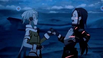 Sinon Sword Kirito Sao Gun Anime Ggo