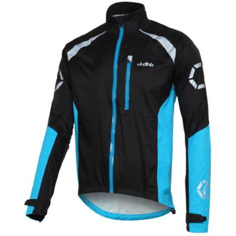 black cycling jacket wiggle dhb flashlight waterproof jacket cycling