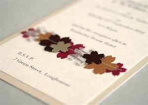 handmade wedding invitations on pinterest handmade With handmade fall wedding invitations ideas