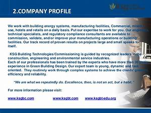 company profile ksg building technologies With information technology company profile template