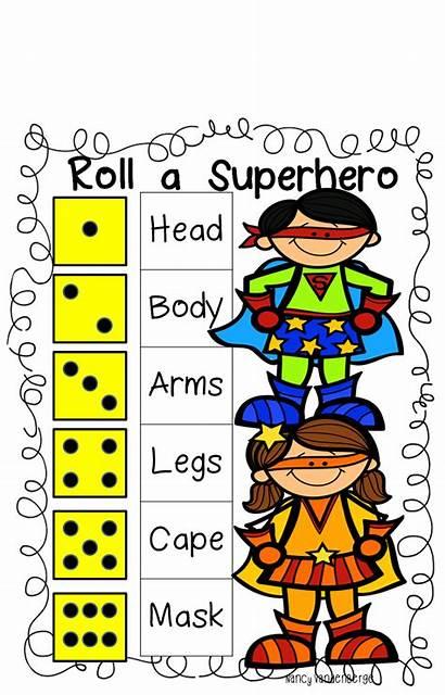 Superhero Unit Roll Rescue Activities Grade Preschool