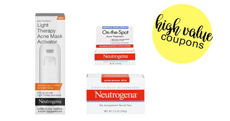 Print High Value Neutrogena Coupons! :: Southern Savers