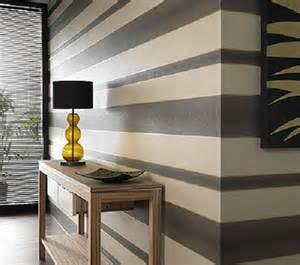 Blue Vertical Striped Curtains by Kolor ścian W Przedpokoju Galeria Pomysł 243 W